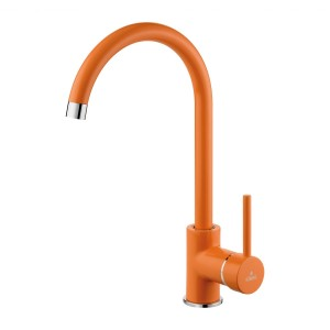 Wasserhahn Design Armatur Orange